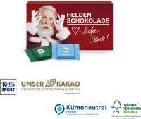 Ritter SPORT Schokotäfelchen in Präsentbox, Klimaneutral, FSC®