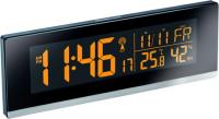 Wetterstation mit LED-Farbwechsel, Hygrometer, Funkuhr und mitgeliefertem Netzteil
