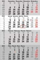 Wandkalender Ziele