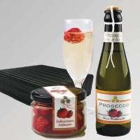 Präsentset Erdbeerset Prosecco