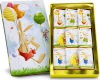 Geschenkartikel - Präsentartikel: Schokoladendose Ostergrüße